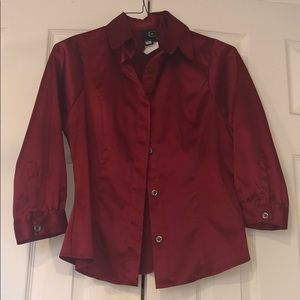 Just cavalli red blouse